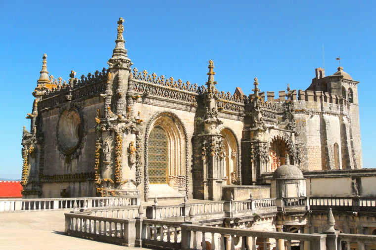 Convent of Christ in Tomar, Portugal, UNESCO world heritage list