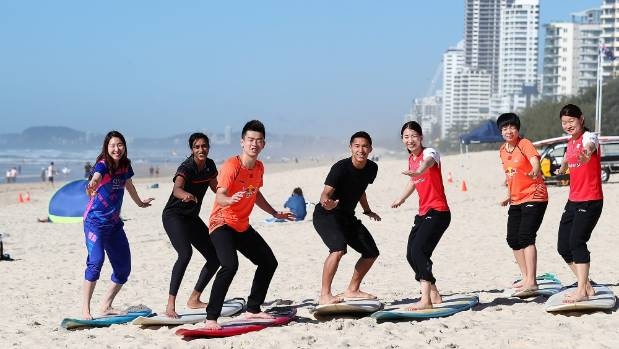 Commonwealth Games badminton players know Surfers is still a paradise.