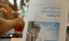 Local event honoring Anthony Bourdain raises money for suicide prevention, travel