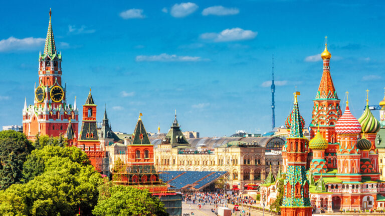 Russia generating much interest and increased US bookings