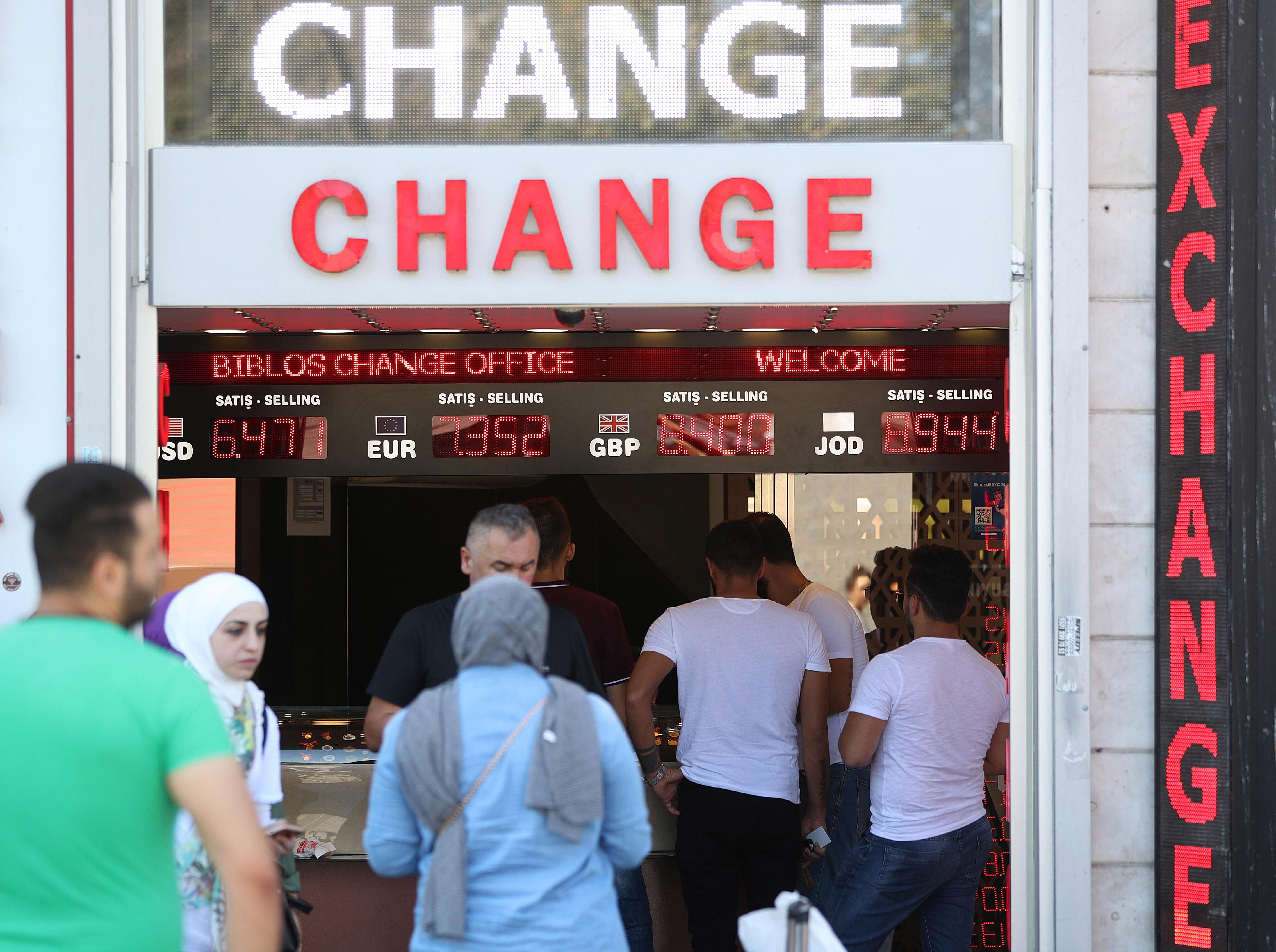 Travel money shops running out of Turkish lira as Brits take advantage of the 'unprecedented' exchange rate